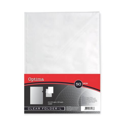 Genotherm OPTIMA A/4 160 mikron víztiszta 50 db/csomag
