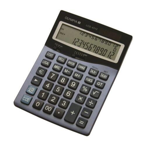 Számológép asztali OLYMPIA LCD-4312 12 digit