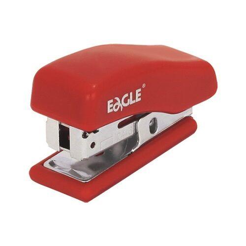 Tűzőgép EAGLE 868 asztali 10 lap 24/6 piros