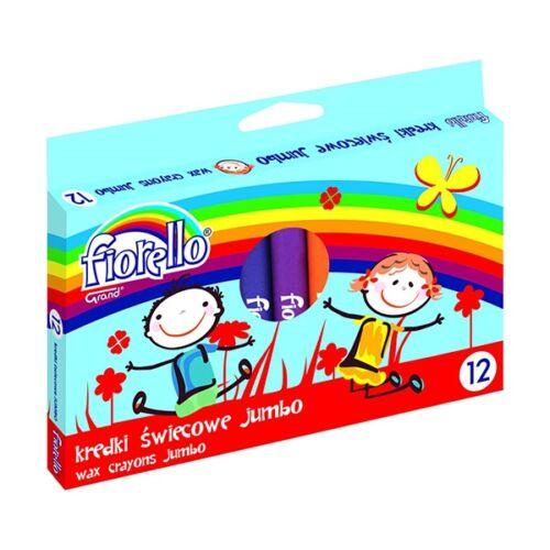 Zsírkréta FIORELLO Jumbo 12db-os készlet