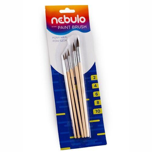 Ecset NEBULO natúr fanyelű 5-ös készlet (2,4,6,8,10)