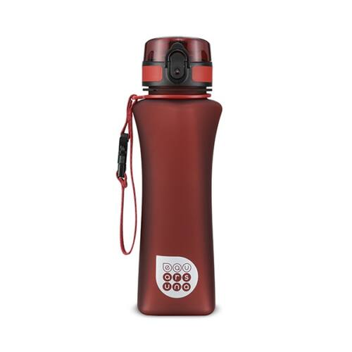 Kulacs ARS UNA műanyag BPA-mentes 500 ml matt piros