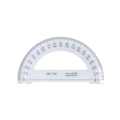 Szögmérő KOH-I-NOOR 180 fokos műanyag
