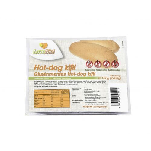 Love Diet Hot-Dog kifli Gluténmentes 130g