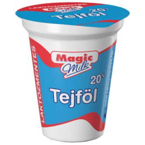 Magic Milk Laktózmentes tejföl 20% 150g 5313
