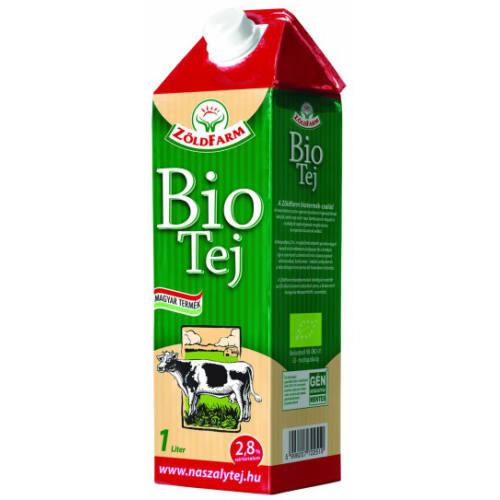Naszály Bio UHT tej 2,8% 1/1 5332