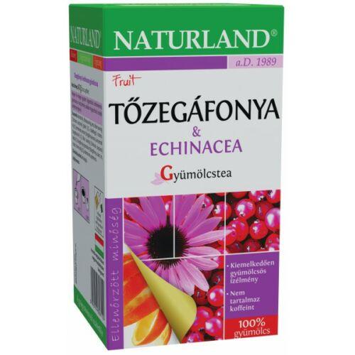 NATURLAND TŐZEGÁFONYA ECHINACEA TEA 20X2G