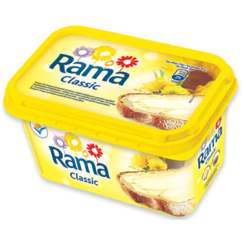 RAMA margarin tégelyes 500g Classic 3010