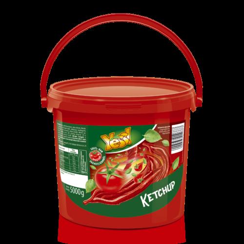 Yess ketchup 5kg 20% paradicsom tartalommal