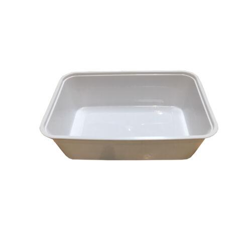 Ételes doboz mikrózható PP 500ml,50db/cs.11199