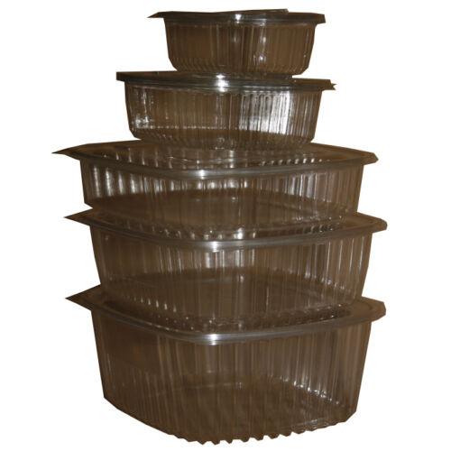 Salátás doboz egybefedeles PET 250ml 100db/cs 7365