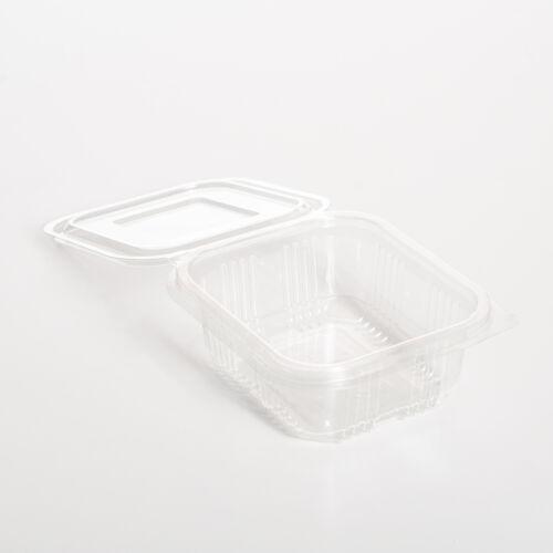 Salátás doboz egybefedeles PET 375ml 100db/cs 7366