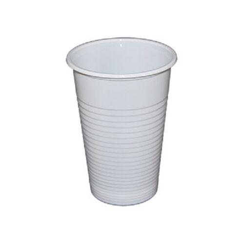 Pohár műanyag 2dl fehér  2.3g 100db/cs 7359