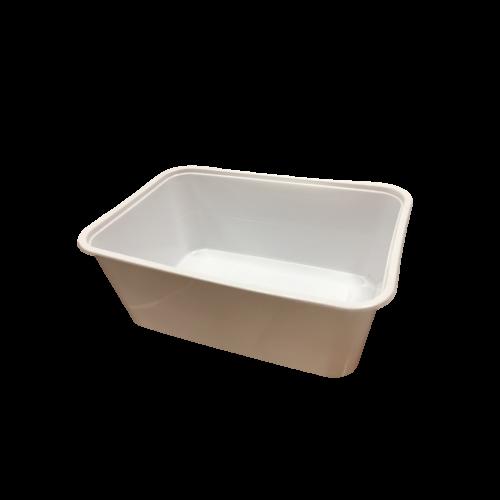 Ételes doboz fehér 930ml, 50db/cs 11201