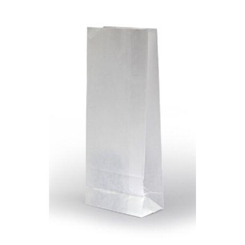 Papírtasak fehér 1kg-os fehér (14+5x25cm) 1500db/cs 992