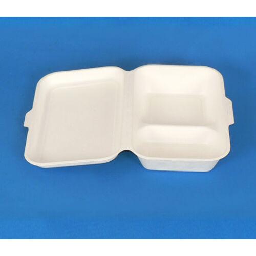 KOMP Cukornád natúr 2 részes ételes papírdoboz 23X15x8cm  125db/cs 12665