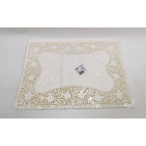 Tortacsipke tégla 30x43 cm, fehér 100db/cs 13053