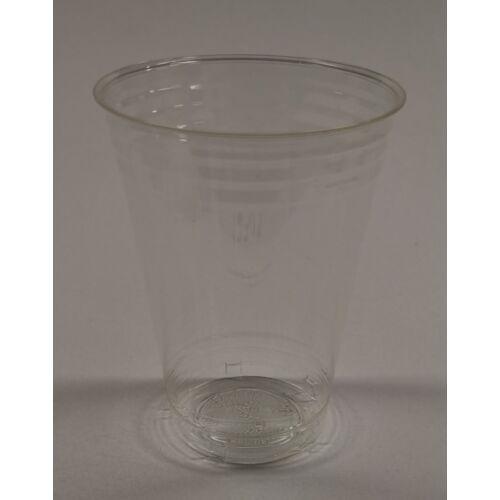 Víztiszta PLA pohár 250ml 50db/cs 12303, 12917
