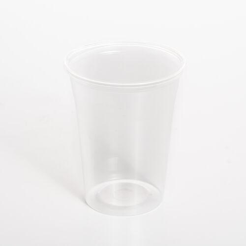 Pohár műanyag 4dl víztiszta 50db/cs 11754