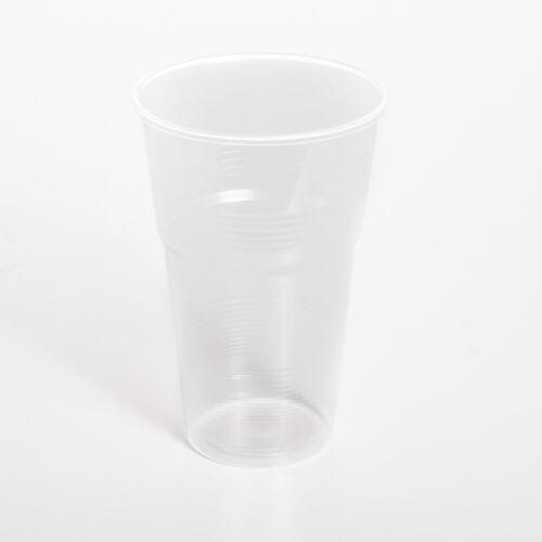 Pohár műanyag 5dl víztiszta 50db/cs 11753