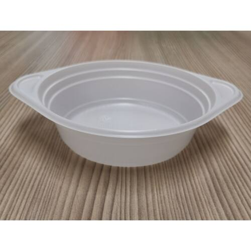 Gulyás tányér 750ml füles fehér 100db/cs nem mikrózható 12505