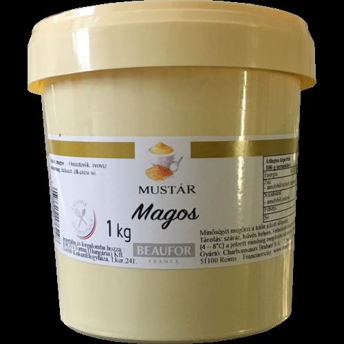Dijoni mustár, magos 1000g