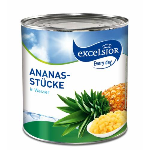 Excelsior Every Day Ananászdarabok light 3035g