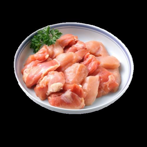 Friss csirkecomb filé bőr nélkül kockázva vcs. /több méretben rendelhető!/