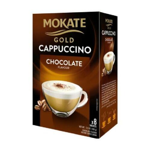 Mokate Gold Cappuccino Csoki instant kávéitalpor 100g 12,5x8g