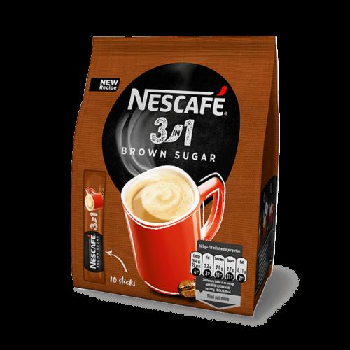 Nescafé  3in1 Barna Cukor 170g  instant kávé