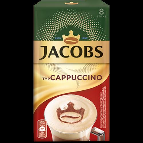 Jacobs Ins Cappuccino Classic instant kávéitalpor 8x14,4g