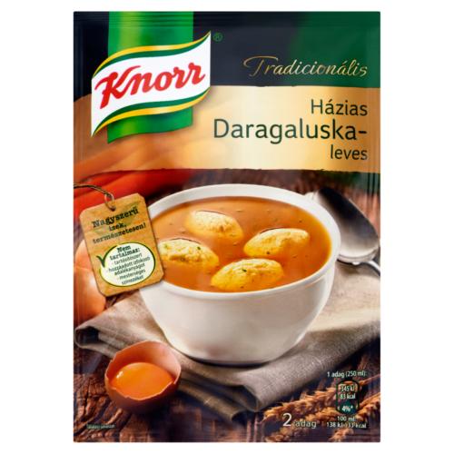 Knorr Ínyenc Házias Daragaluska leves 63g