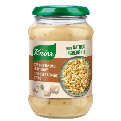Knorr Mártás Tejszínes-Gombás 400g