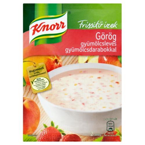 Knorr Gyümölcsleves Görög 54g