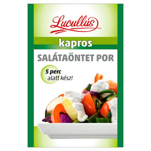 Lucullus Salátaöntet Kapros  12g