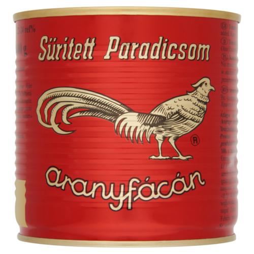 Aranyfácán sűrített paradicsom  425g 28-30%