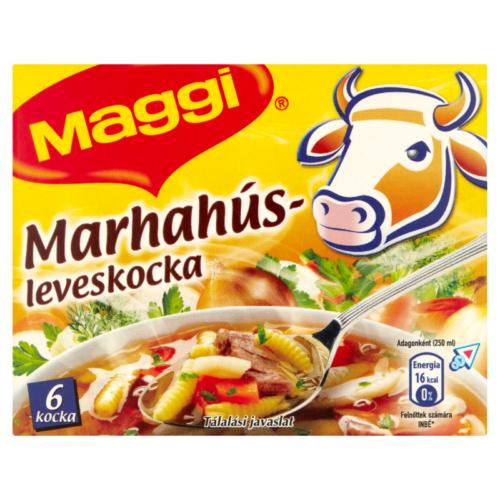 Maggi Leves Kocka  60 g Marha