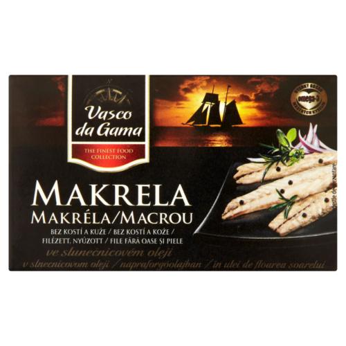 Filety Makréla 125g Növényi Olajban