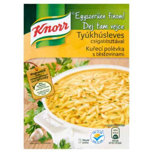 Knorr MindLeves Tyúkhús Csigatészta 40g