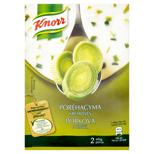 Knorr Ínyenc Póréhagyma Krém leves 53g