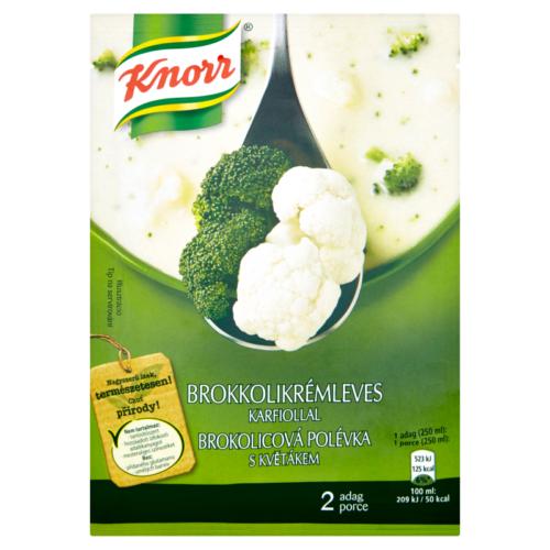 Knorr Ínyenc Brokkoli Karfiol leves 51g