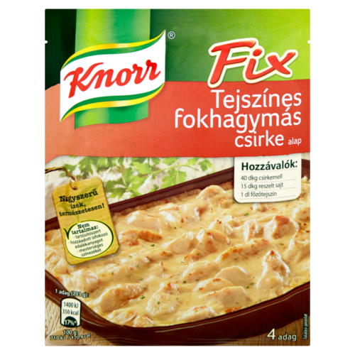Knorr Alap Tejszínes Fokhagymás 47g