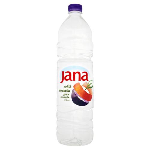 Jana Víz Kék Szőlő-Mirabe 1,5l