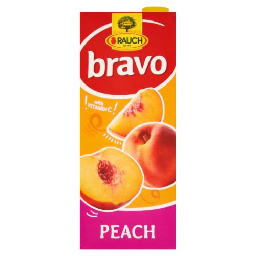 Bravo Őszibarack  25%  gyümölcsital 1,5l