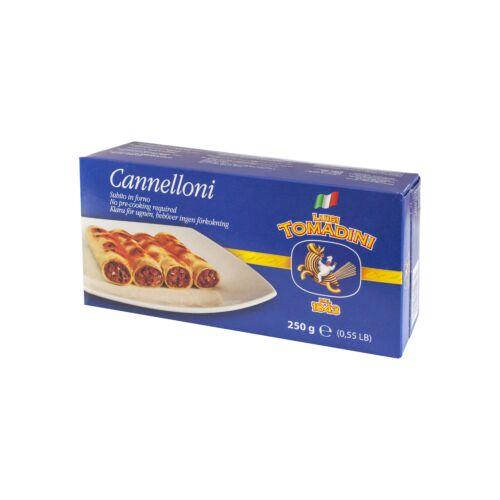 Tomadini cannelloni /óriáscső/ 250g