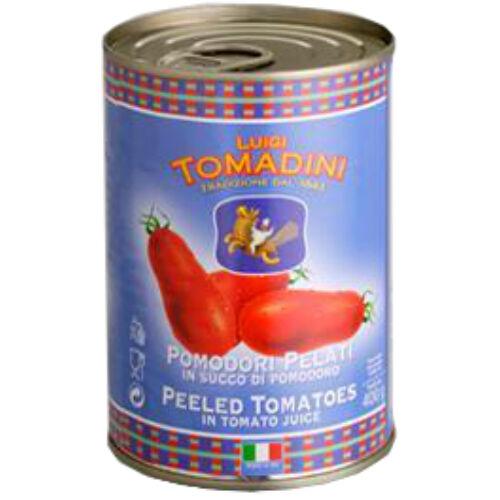 Tomadini hámozott egész paradicsom 2500g
