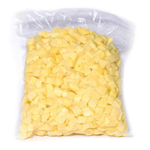 Tisztított  friss burgonya  kocka 10x10 mm vcs. 5kg