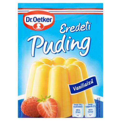 Dr.Oetker Pudingpor 2x40g Vanília