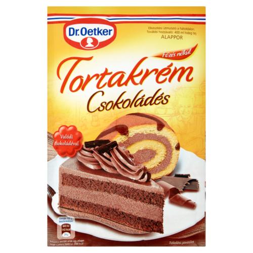 Dr.Oetker Torta Krém 145g Csoki