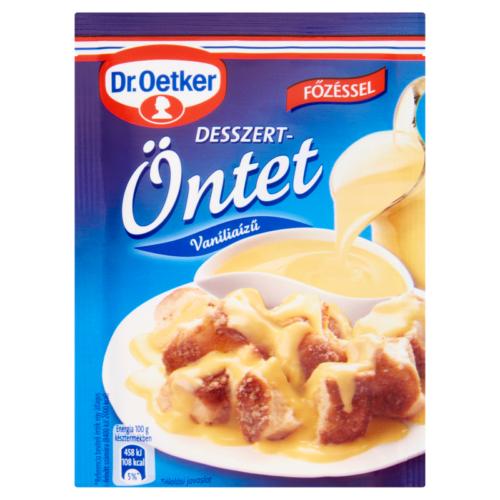 Dr.Oetker Desszert öntet Vanília 35g